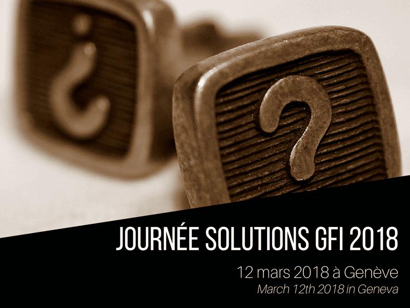 Journée Solutions GFI