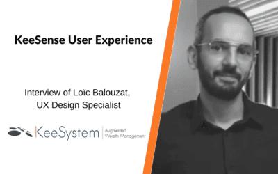 Interview of Loïc Balouzat, Senior UX designer at KeeSystem