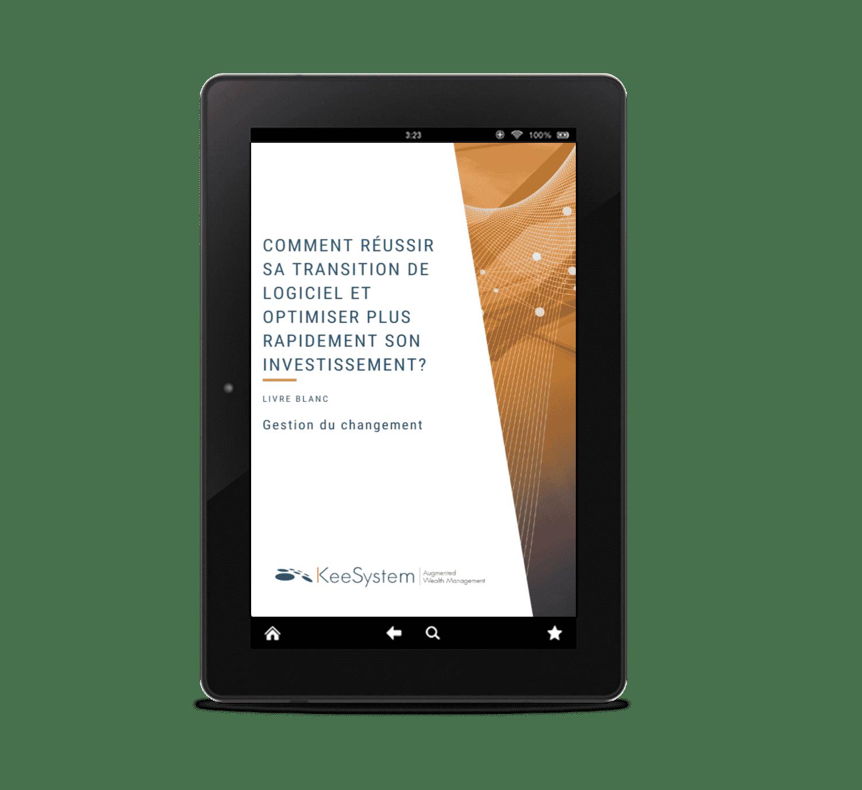 livre blanc gestion du changement de logiciel