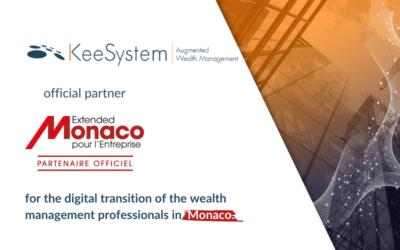 KeeSystem, official partner of Extended Monaco for Enterprise