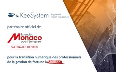 KeeSystem, partenaire officiel d'Extended Monaco pour Entreprise