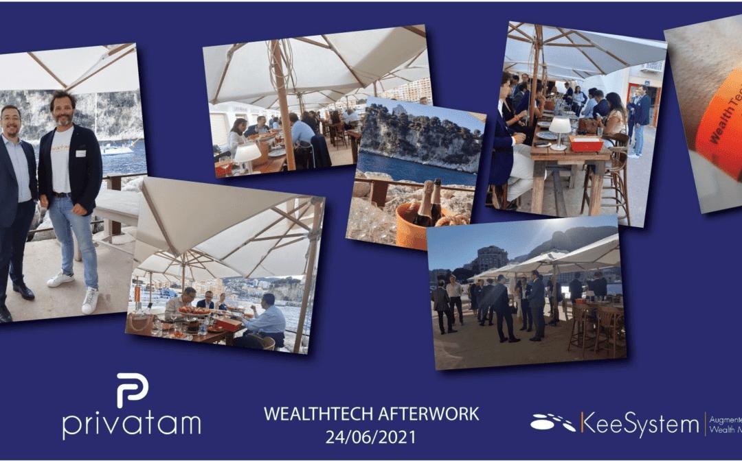 KeeSystem et Privatam organise le premier WealthTech afterwork à Monaco