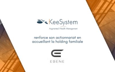 KeeSystem renforce son actionnariat pour accélérer sa croissance