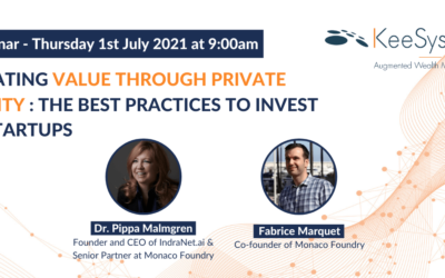 Creating value through private equity : the best practices to invest in startups and innovation