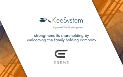 KeeSystem strengthens its shareholding to accelerate its growth